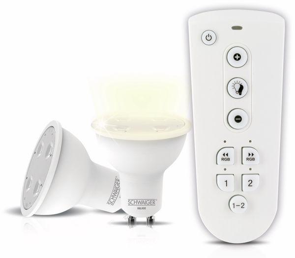 SCHWAIGER HALSET400 LED Wohnlicht, GU10 - Produktbild 1