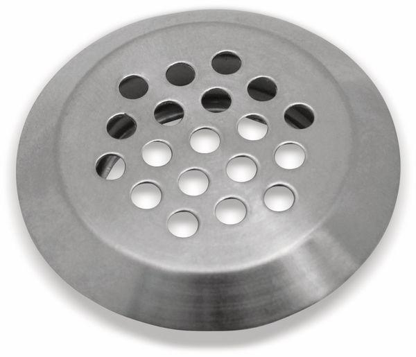 Lüftungsgitter Edelstahl rund Ø 40 mm