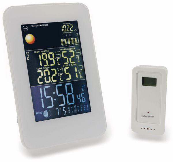 Funk-Thermometer, Hochformat, weiß, B-Ware - Produktbild 1