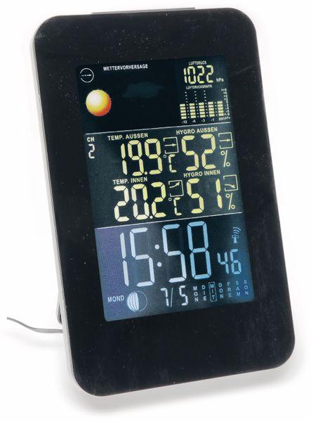 Funk-Thermometer, Hochformat, schwarz, B-Ware - Produktbild 1