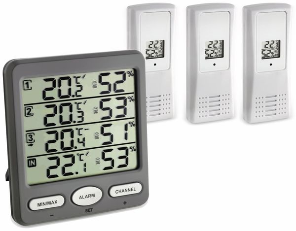 Digitales Thermo-Hygrometer TFA 30.3054.10