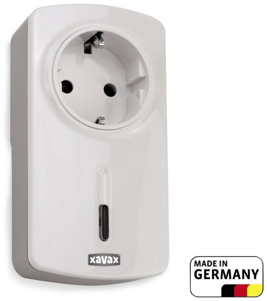 Bluetooth Steckdose XAVAX 111970, weiß