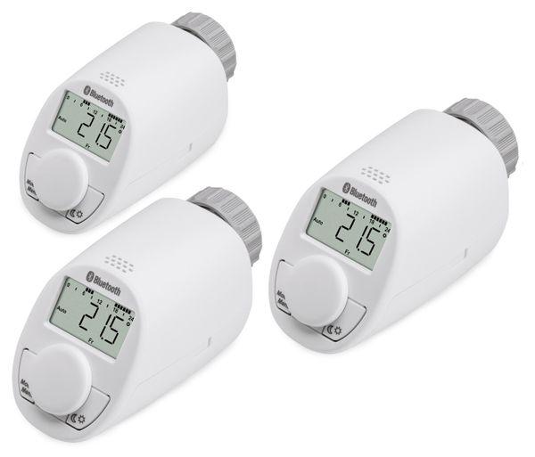 Heizkorper Thermostatkopf Eqiva Mit Bluetooth 3 Stuck Online Kaufen