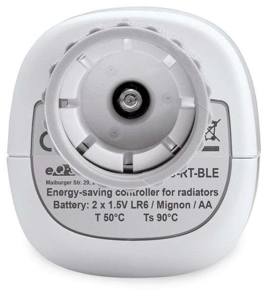 Heizkörper-Thermostatkopf EQIVA mit Bluetooth, 3 Stück - Produktbild 3