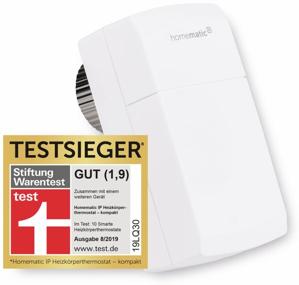 HOMEMATIC IP 151239A0 Heizkörper-Thermostat – kompakt - Produktbild 1