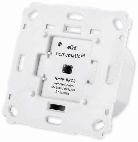 Smart Home HOMEMATIC IP 152000A0 Wandtaster, 2-fach für Markenschalter - Produktbild 3