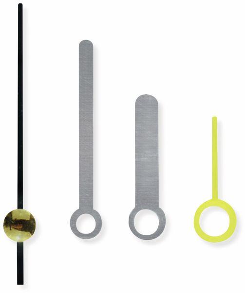 Quarz-Uhrwerk mit 3 Zeigersätzen und Weckfunktion - Produktbild 7