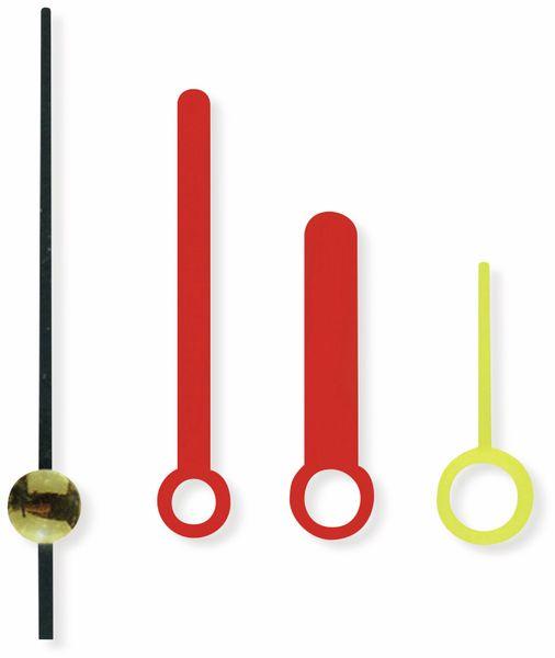 Quarz-Uhrwerk mit 3 Zeigersätzen und Weckfunktion - Produktbild 8