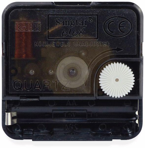 Quarz-Uhrwerk mit 3 Zeigersätzen, Schleichsekunde - Produktbild 2