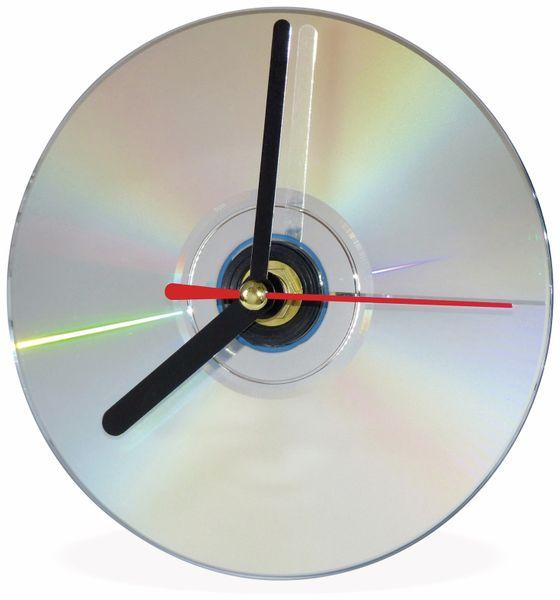 Quarz-Uhrwerk mit 3 Zeigersätzen, Schleichsekunde - Produktbild 5
