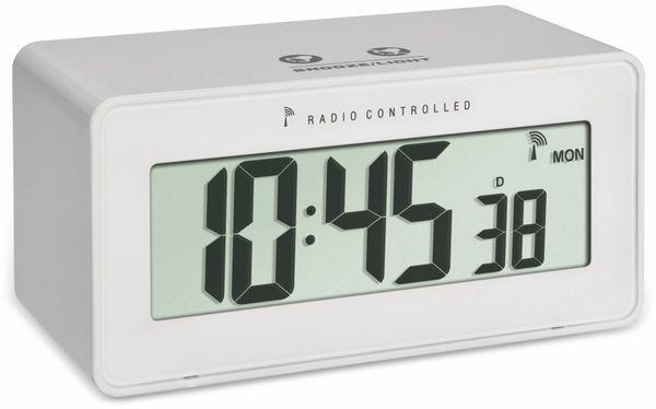 Digitaler Funkwecker TFA Change, weiß, Temperatur, Luftfeuchte
