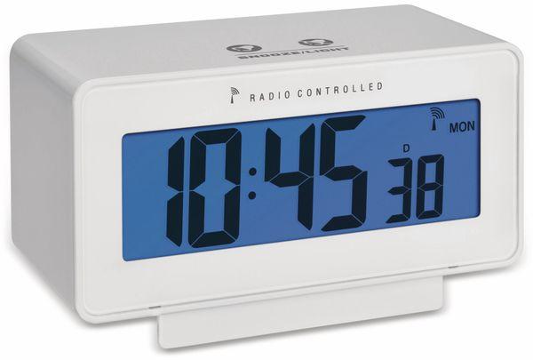 Digitaler Funkwecker TFA Change, weiß, Temperatur, Luftfeuchte - Produktbild 2