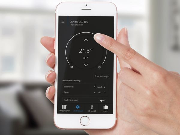 Heizkörper-Thermostatkopf EUROTRONIC Genius BLE 100 - Produktbild 5