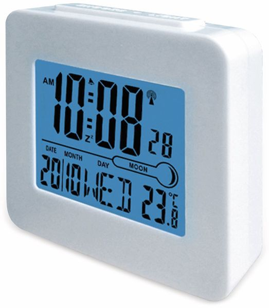 Digitaler Funkwecker DENVER REC-34, weiß