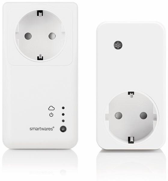 WiFi-Steckdosen-Set SMARTWARES SH4-99551NE