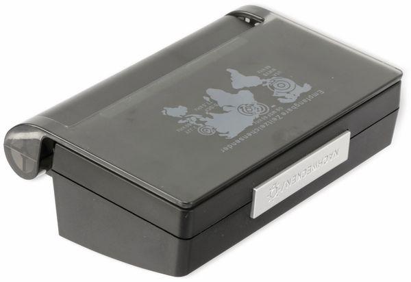 Funkreisewecker, TR-FRWe-03sw, schwarz - Produktbild 4