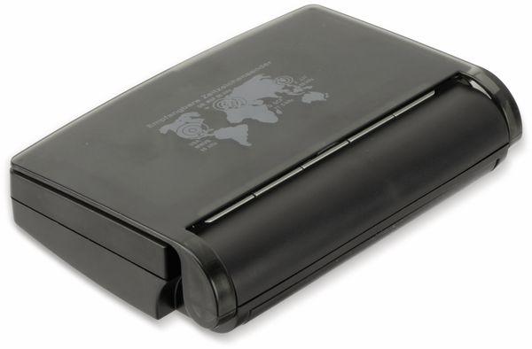 Funkreisewecker, TR-FRWe-02, schwarz - Produktbild 3