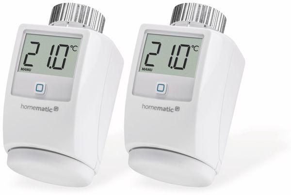 Smart Home HOMEMATIC IP 140280 Heizkörper-Thermostat, 2 Stück