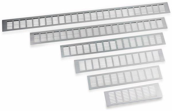 Lüftungsgitter aus Aluminium 30x8 cm