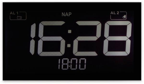 Uhrenradio, RW, schwarz, B-Ware - Produktbild 3