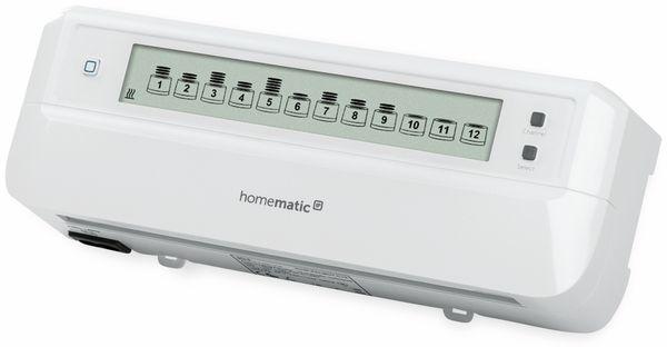 HOMEMATIC IP 153621A0, Fußboden- Heizungsaktor, 12-fach, motorisch