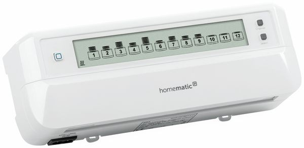 HOMEMATIC IP 153621A0, Fußboden- Heizungsaktor, 12-fach, motorisch - Produktbild 2