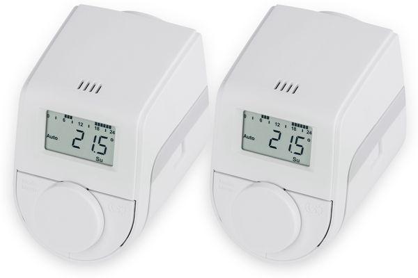 Heizkörper-Thermostatkopf EQIVA Model Q, 2 Stück
