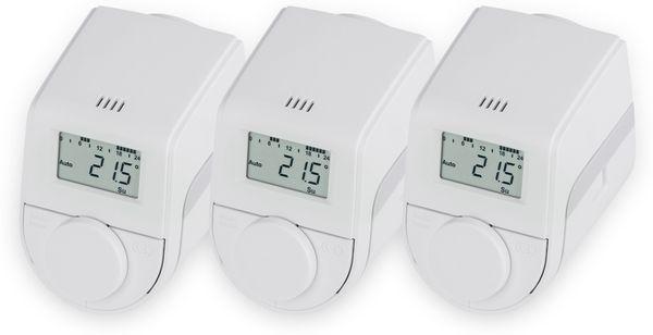 Heizkörper-Thermostatkopf EQIVA Model Q, 3 Stück