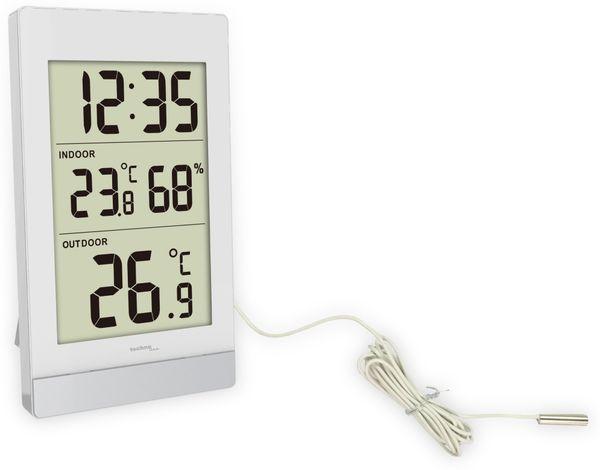 Innen-/Außenthermometer TECHNOLINE WS7039, weiß/silber - Produktbild 2