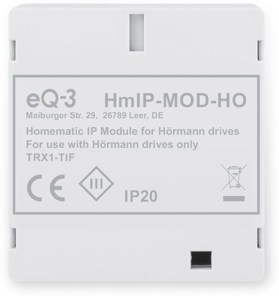 HOMEMATIC IP 153986A0, Modul für Hörmann-Antriebe - Produktbild 5