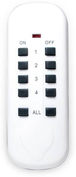 Funksteckdosen-Set LOGILIGHT EC0002A, 3-teilig, Outdoor - Produktbild 5