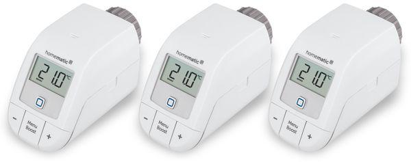 Smart Home HOMEMATIC IP 153412A0, Heizkörperthermostat Basic, 3 Stück