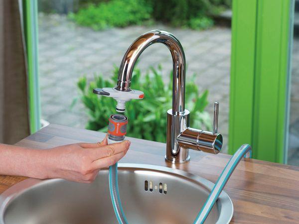Hahnverbinder GARDENA 18210-20 für Indoor-Wasserhahn - Produktbild 4