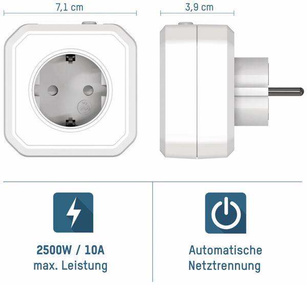 Zeitschaltuhr ANSMANN AES1, Steckdose mit ZeroWatt Technologie - Produktbild 4