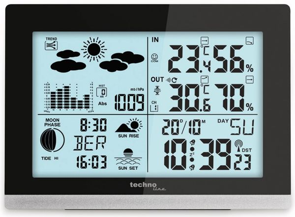 Funk-Wetterstation TECHNOLINE WS 6762 - Produktbild 2