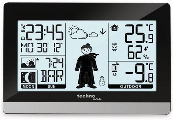 Funk-Wetterstation TECHNOLINE WS 9612 - Produktbild 3
