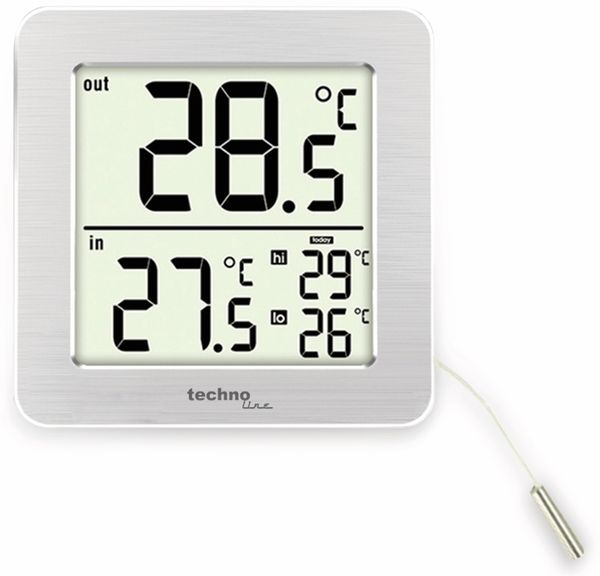 Digitales-Thermometer TECHNOLINE WS 7049 - Produktbild 2