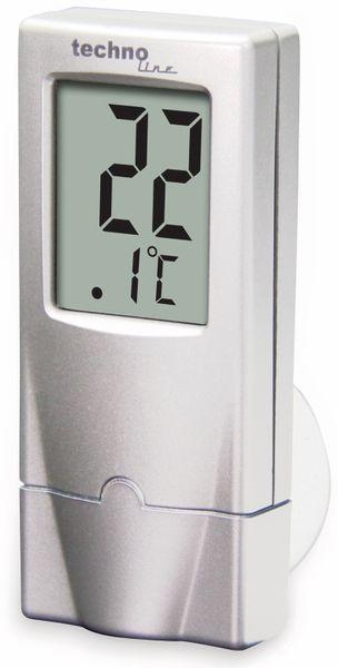 Digitales Fensterthermometer TECHNOLINE WS 7024, mit Saugnapf - Produktbild 3