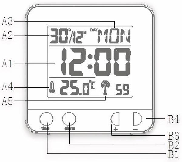 Funkwecker TECHNOLINE WT 235 silber - Produktbild 6