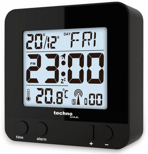 Funkwecker TECHNOLINE WT 235, schwarz - Produktbild 2