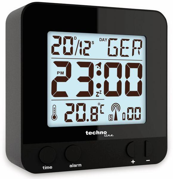 Funkwecker TECHNOLINE WT 235, schwarz - Produktbild 5