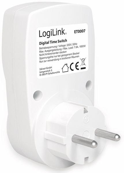 Digitale Wochenzeitschaltuhr LOGILINK ET0007 - Produktbild 3
