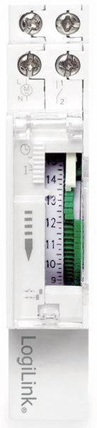 Mechanische Zeitschaltuhr LOGILINK ET0009, für Hutschienenmontage - Produktbild 3