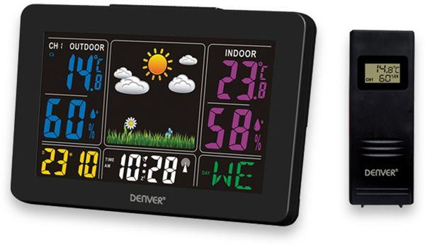 Wetterstation DENVER WS-540, schwarz, mit Farbdisplay