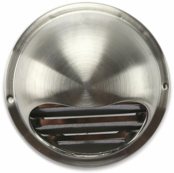 Ablufthaube, Halbkugel, 150 mm, Edelstahl, gebürstet - Produktbild 2