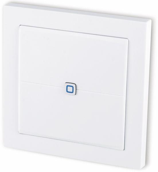 Smart Home HOMEMATIC IP 155342A0 Wandtaster, flach