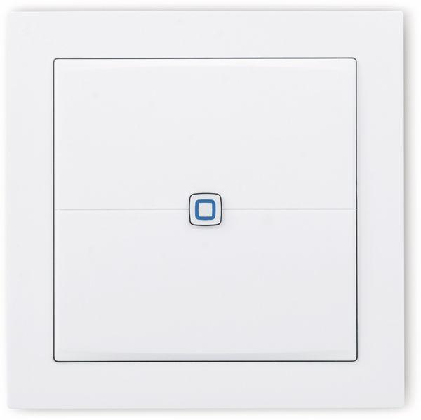 Smart Home HOMEMATIC IP 155342A0 Wandtaster, flach - Produktbild 2