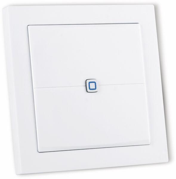 Smart Home HOMEMATIC IP 155342A0 Wandtaster, flach - Produktbild 3