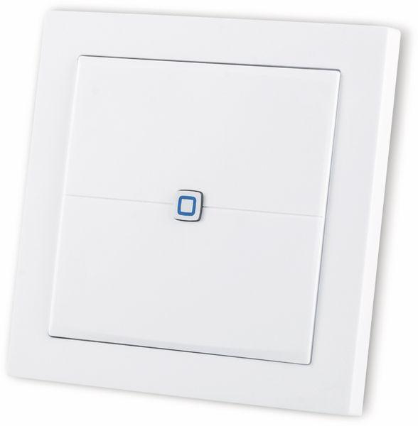 Smart Home HOMEMATIC IP 155342A0 Wandtaster, flach - Produktbild 4