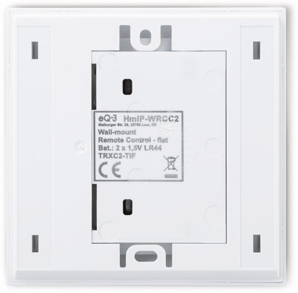 Smart Home HOMEMATIC IP 155342A0 Wandtaster, flach - Produktbild 6